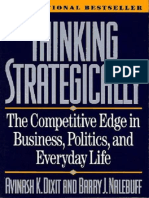 Avinash Dixit and Barry Nalebuff - Thinking Strategically