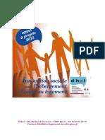 Appel à projet Innovation sociale Hébergement Logement Dihal 2015