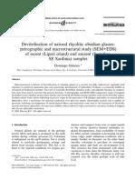 Devitrifikasi Gelas (Studi Mikroskopik)