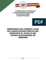 Ordenanza CLPP