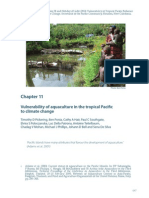 Vulnerability of aquaculture in the tropical Pacific to climate change