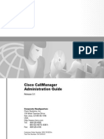 [Cisco Press] CallManager Admin Guide