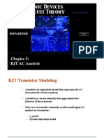 Chapter-5 BJT AC Analysis