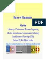 Min Qiu - Basics of plasmonics-2.pdf