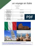 planifier un voyage en italie