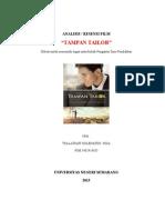 Analisis Film Tampan Tailor