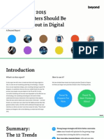 2015 Digital Trends for Marketers by Beyond