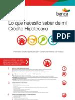 Guía del Credito Hipotecario