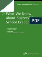 Randd Leithwood Successful Leadership