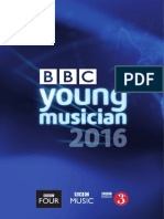 BBC Young Musician 2016 Entry Form