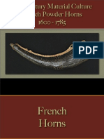 Military - Arms & Accoutrements - Powder Horns French
