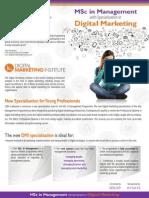 Εξειδίκευση στο Ψηφιακό Μάρκετινγκ μέσα από το Μάστερ στη Διοίκηση του CIIM