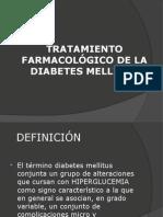tratamiento farmacologico de la diabetes mellitus