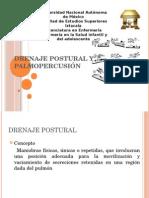 Drenaje Postural y Palmopercusión