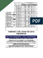 RETROSPECTO VALENCIA 050615 HECTOR  BARRUETA