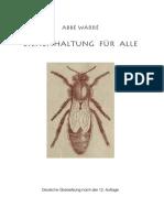 Bienenhaltung Fuer Alle (Emile Warre)