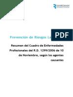 Cuadro de Enfermedades Profesionales (1)