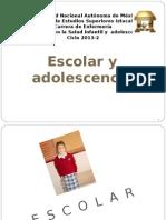Escolar y Adolescente