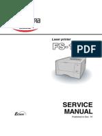 Kyocera FS--1010 Service Manual