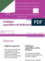 GERALDINE - Toracocentesis, Drenaje Pleural y RCP