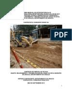 2. Informe Mensual No 02 de Interventoria - Septiembre 2013