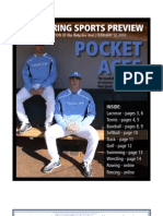 The Daily Tar Heel spring sports preview 2010