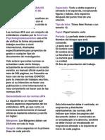 Normas Apa Para Trabajos Escritos y Documento de Investigacion