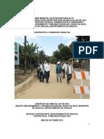 3. Informe Mensual No 03 de Interventoria - Octubre 2013