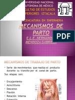 Mecanismos de Parto Diapositivas