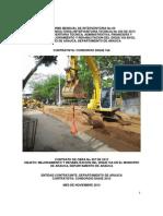 4. Informe Mensual No 04 de Interventoria - Noviembre 2013