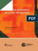 30 Los Afrodescendientes en El Perú Republicano