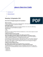 Electrical Engineers Interview Guide