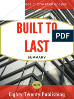 Built to Last by Collins and Po - Eighty Twenty Publishing