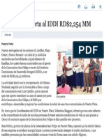 Generadora Aporta al IDDI $2,254 MM