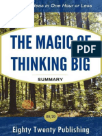 The Magic of Thinking Big by Da - Eighty Twenty Publishing