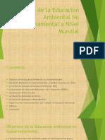 Educacion Ambiental No Gubernamental