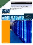 Follow the Money - Big Data ROI and Inline Analytics