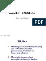PPT Konsep Teknologi