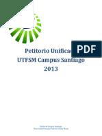Petitorio UTFSM Campus Santiago 2013 (Unificado)