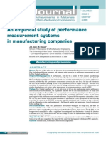 An Empirical Study of Performance