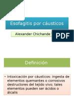 Esofagitis Por Cáusticos