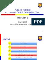 Materi Public Expose JECC 2015