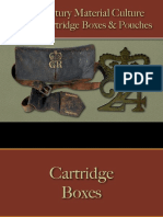 Arms & Accoutrements - British Cartridge Boxes & Pouches