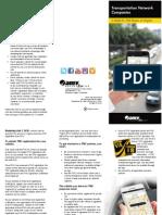 Ride Sharing Vehicles info from Va. DMV
