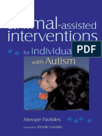 Animal-Assisted Interventions for Individuals With Autism (Foreword by T.grandin) [2008]