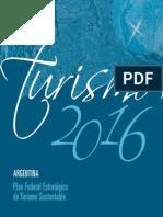 Plan Federal de Turismo - Argentina 2016 PDF