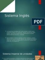 Sistema Inglés