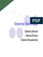 2.-Sistemas de Numeracion