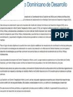 Acuerdo Instituto Dominicano de Desarrollo Integral (IDDI)