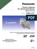 Dmc-lx7 en Advanced